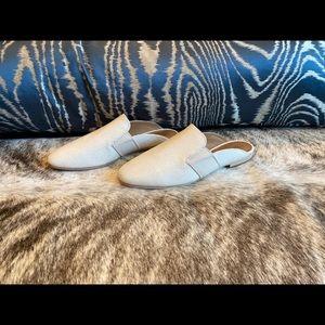 Frye Womens Terri Gore White Mules Size 8 NEW